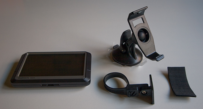 GPS unit and mounts