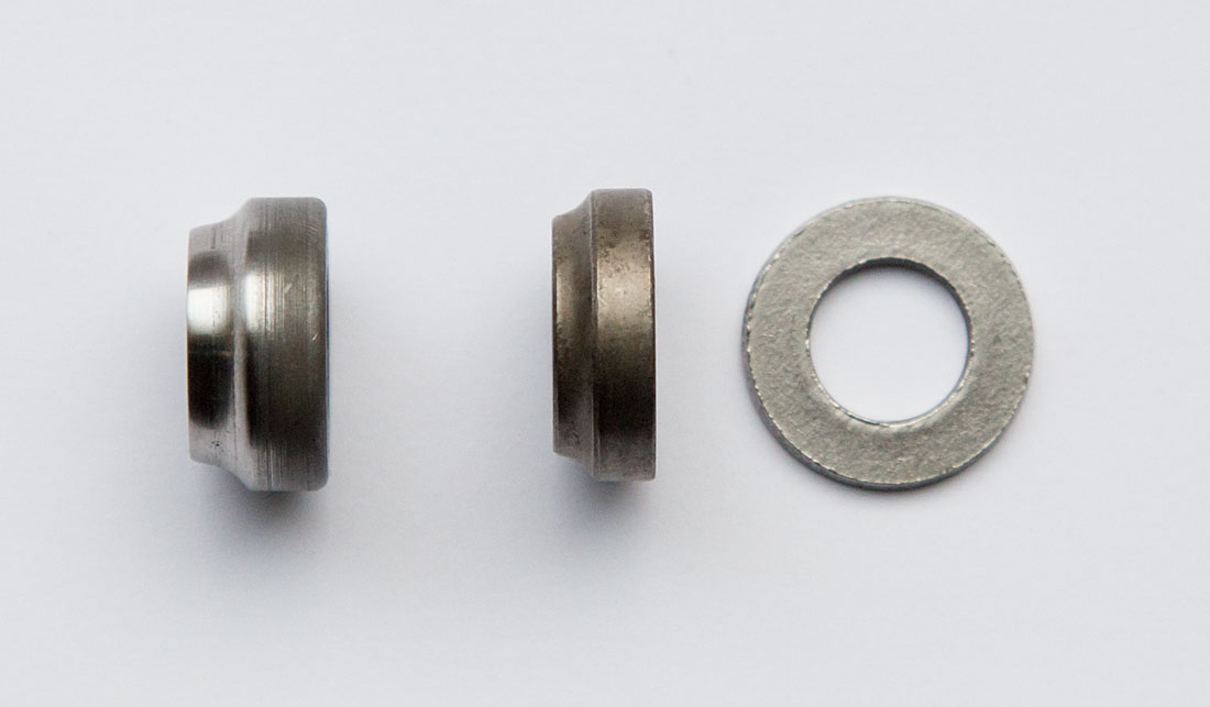 Duomatic and T3 bearing cone compared