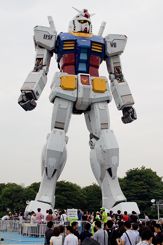 Scale 1 to 1 Gundam