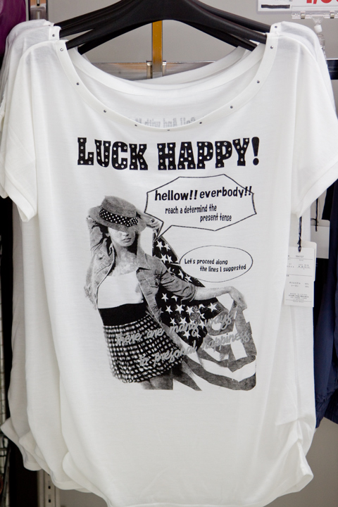 Luck happy